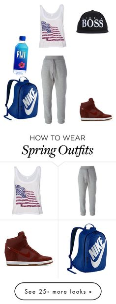 """""""Hip Hop Class"""" by emmi-coconuthead on Polyvore featuring adidas and NIKE"""