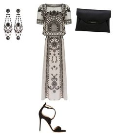 """""""Untitled #1767"""" by ioan-jeni on Polyvore featuring Temperley London, Gianvito Rossi and Givenchy"""