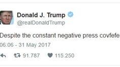 In Nebraska was de plaat twee uur na de tweet van de president al niet meer verkrijgbaar.