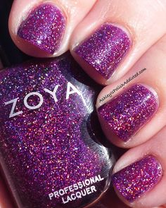 YESS! I got Aurora, and this is on my nails right now! My fav polish.