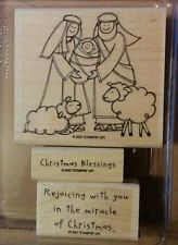 Stampin' Up, Baby Jesus is Born
