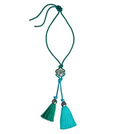 Lanvin Pendant Tassel Necklace