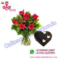 Surprise your lover with Valentines Day Cake & Flowers Gifts on Mid-night Delivery at their doorstep by Online Cake Delivery, Send Gifts in delhi, Anywhere! Online Cake Delivery, Valentine Day Cupcakes, Cake Online, Tableware, Flowers, Gifts, Dinnerware, Presents, Tablewares