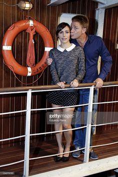 News Photo : Juanjo Artero and Irena Montala attend 'El barco'...