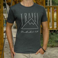 Travel shirt Travel addict | travelingdutchies.com