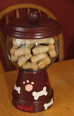 Gumball Container Dog Treats