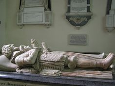 Tomb of Sir John Kyrle, Hellens and St Bartholomew's Church, Much Marcle, Herefordshire, c. 1650