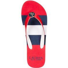 Lauren by Ralph Lauren Elissa Thong Flip-Flop Sandals