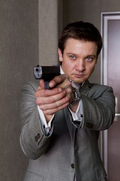 Jeremy Renner as Special Agent William Brandt in Mission Impossible 4: Ghost Protocol