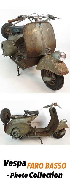 Vespa Faro Basso (Lampe Unten) Vintage Scooters