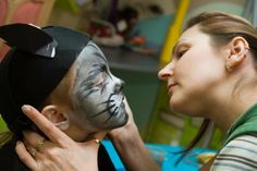 Halloween Costume Face Paint Pictures [Slideshow]