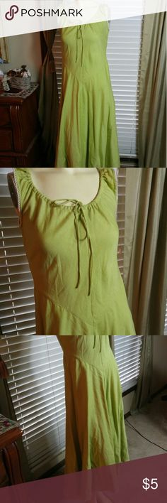 Linen dress Very nice in good condition cami Dresses High Low