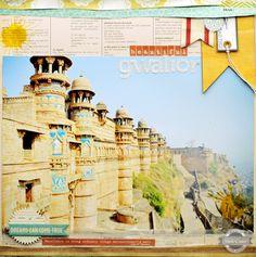 Beautiful Gwalior {Studio Calico August Kit} - Scrapbook.com
