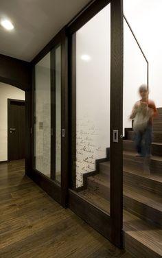 interier design dizajn navrh atyp byt rodinny dom výtvarné doriešenie   DREVO KAMEŇ CORTEN