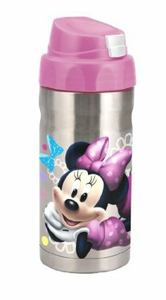 Planet Zak's Good to Go Minnie Mouse 12-Ounce Double Wall Stainless Steel Canteen by Planet Zak!. $21.15