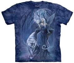 Boutique The Mountain tee shirts : Evanescence - T-shirt fée et tigre