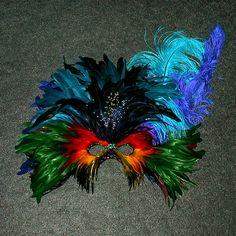 Carnivale Ostrich Rainbow