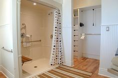 Would the humidity from the shower ruin the closet or the clothes in it?