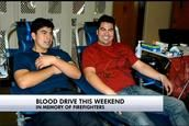 Montgomery County Fire Dept. holds annual blood drive in father, son's honor