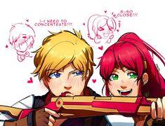 Tap to see the meme Dc Anime, Anime Comics, Anime Art, Neon Katt, Rwby Jaune, Rwby Pyrrha, Team Jnpr, Rwby Bumblebee, Rwby Memes