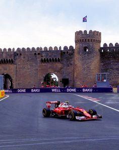On Track with Kimi Räikkönen ahead of the #EuropeanGP at the Baku City #F1 Circuit in Azerbaijan
