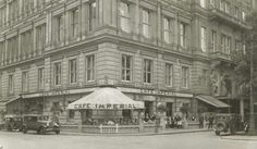 Café Imperial, Vienna 1920 Austro Hungarian, Coffee Shops, Old Pictures, Vintage Postcards, Vienna, Hungary, Old World, Street Photography, Past