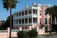 My Dream House since being a little girl.The Palmer House, Charleston, SC my favorite city in the united states!!!!!