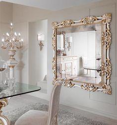 Such a pretty decorative mirror