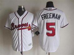Men's Atlanta Braves #5 Freeman White Cool 2015 New Baseball Jersey pls email us via chinajerseyscustomerservice@gmail.com if any questions