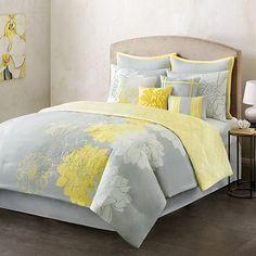 Home Classics Counterpoint Reversible Comforter Set - Queen Yellow Master Bedroom, Bedroom Colors, Queen Comforter Sets, Bedding Sets, Kohls Bedding, Home Bedroom, Bedroom Decor, Bedrooms, Bedroom Ideas