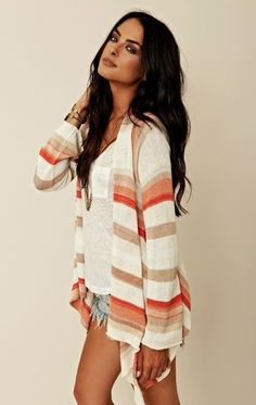 I Love the Cardigan!! Cute summer outfit!