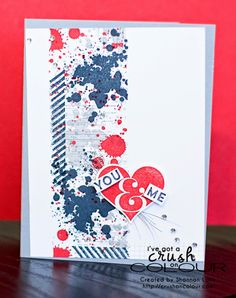 Crush On Colour: Groovy Love and Gorgeous Grunge  (Stampin' Up 2014)