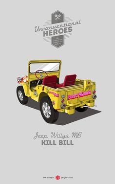 #UnconventionalHeroes #GeraldBear #KillBill