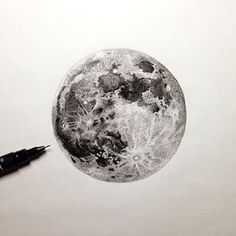 full moon tattoo - Google Search