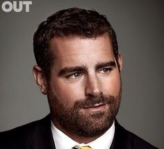 His hair, eyebrows, moustache and beard. Scruffy Men, Hairy Men, Hot Bearded Men, Beautiful Men Faces, Gorgeous Men, Brian Sims, Oscar 2017, Awesome Beards, Handsome Faces