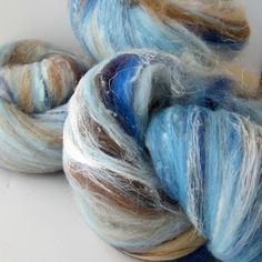 New Stuff! Utopia Batt Spinning  Felting Fiber Merino Wool by OnTheRound,