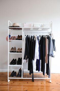 autumn minimal wardrobe