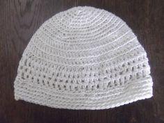 Childs Crochet Beanie Hat Cream by AlfieJayne on Etsy, €15.00