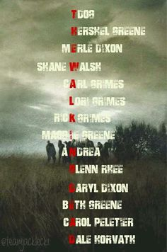 This is so awesome! The Walking Dead