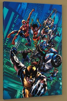 Marvel Comics New Avengers Finale #1, Limited Edition Giclee