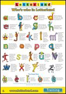 Worksheets Worksheet On Letter Land Song letterland characters slp letters literacy pinterest to letterland