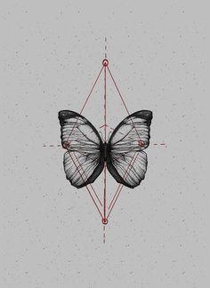 Butterfliez by Anderson Alves, via Behance Pop Art Tattoos, Black Tattoos, Tatoos, Thigh Tattoos, Tattoo Art, Butterfly Art, Flower Art, Butterflies, Borboleta Tattoo