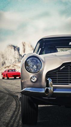 #Aston #Martin #ClassicCar QuirkyRides.com pinterest.com/quirkyrides