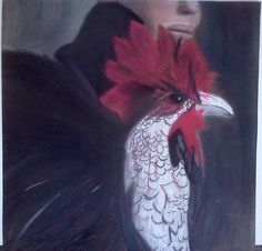 rooster 2006 pastel