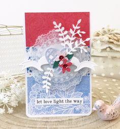 spellbinders card kit of the month...