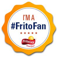 I'm a #FritoFan! You can be one too. Sign up for exclusive giveaways, new snack sneak peeks, and more at https://signup.snacks.com