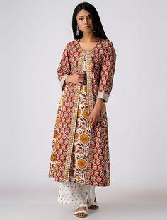 Salwar Neck Designs, Dress Neck Designs, Kurta Designs, Layered Kurta, Kurta Style, Afghan Dresses, Indian Designer Suits, Embroidery Suits Design, Dress Indian Style