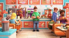 Animation : Happy Food, a new funny animaton by Yum Yum London 3d Design, Game Design, Graphic Design, 3d Cinema, 3d Artwork, Happy Foods, Vinyl Toys, 3d Character, Character Modeling
