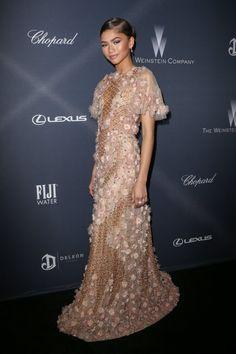 Zendaya at the Weinstein Company Pre-Oscar Dinner in LA 2/27/16