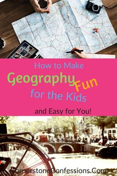 A NEW ONLINE geography curriculum for elementary kids that brings world geography to life! Now you can make geography fun and memorable too! Geography Lessons, Teaching Geography, World Geography, Online Education Courses, Social Studies, Lesson Plans, Curriculum, How To Memorize Things, Activities